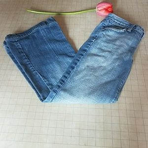 """7 for all mankind boot cut 28"""" waist jeans"""